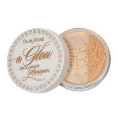 Pó Iluminador To Glow Loose Powder Highlighter Ruby Rose 3