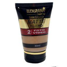 Base Líquida Matte Full HD Ludurana 04