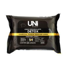 Lenço Demaquilante Detox 5 em 1 Uni Makeup