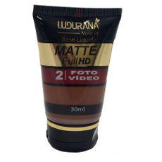 Base Líquida Matte Full HD Ludurana 07