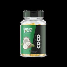 Óleo de Coco 1000MG 60 CÁPS