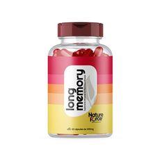 Vitamina Para Memória (LONG MEMORY) 500Mg 60 CÁPS