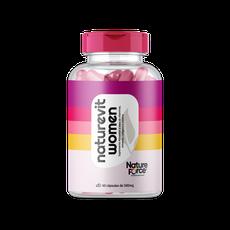 Vitamina Cabelo, Unha e Pele (NATUREVIT WOMEN) 500MG 60 CÁPS