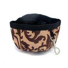 Bowl portátil impermeável em nylon Cordura, resistente a perfurações e abrasâo, com alta durabilidade
