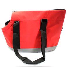 Bolsa de Transporte em nylon balístico, impermeável e com estrutura interna, garantindo segurança e conforto ao pet