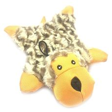 Brinquedo de Pelúcia Flat com barulho squeacker