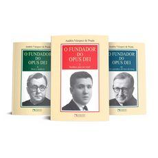Fundador do Opus Dei, O (3 vols.)