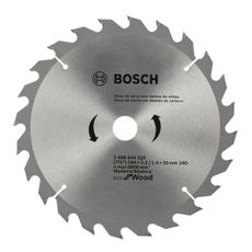 DISCO DE SERRA CIRCULAR ECO D184X24T - BOSCH