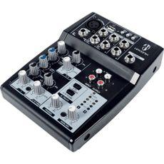 MESA DE SOM HMX-105 USB 5 CANAIS -  HAYONIK