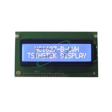 DISPLAY LCD 16X2 AMARELO E VERDE HC1627-SYH BKL PI