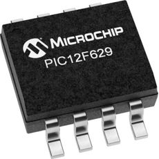 MICROCONTROLADOR  PIC 12 F 629 8 BIT 8 PINOS - MIC