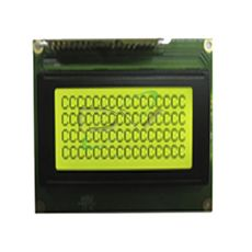 DISPLAY LCD 16X4 AMARELO E VERDE HC1641-SYH  BKL P