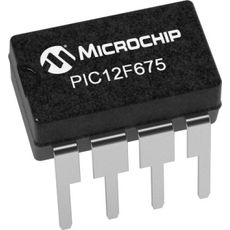 MICROCONTROLADOR  PIC 12 F 675 8 BIT 8 PINOS - MIC