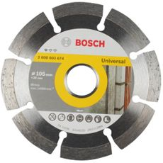 DISCO DIAMANTADO STANDARD - SEGMT 105MM - BOSCH