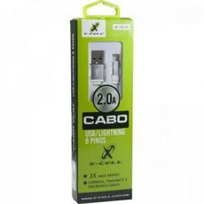 CABO MICRO USB X USB TURBO 2.0A 1MT - X-CELL