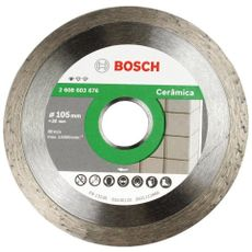 DISCO DIAMANTADO STD CERAMIC LISO -105MM - BOSCH