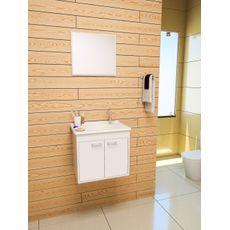 Gabinete para Banheiro Udine 45 com Espelheira