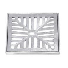 Grelha e Porta Grelha Quadrada em Alumínio Fundido 20x20