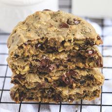 Cookie Pistache com Chocolate Meio Amargo