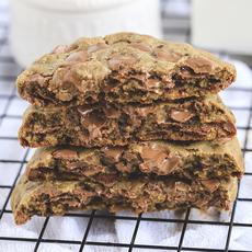 Cookie Baunilha Gotas de Chocolate Ao Leite