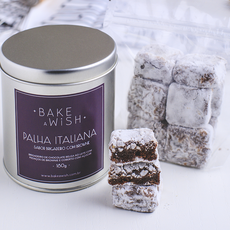 Palha Italiana Brigadeiro com Brownie