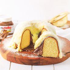 Vulcão Leite Ninho com Nutella