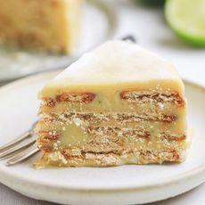 Torta Palha Limão