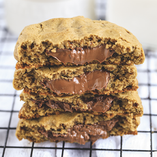 Cookie Baunilha Nutella