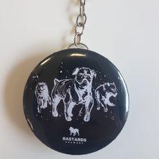 Abridor Chaveiro 3 Dogs Preto