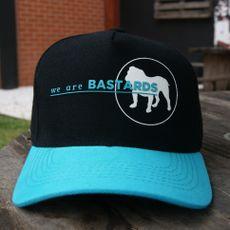 Boné Preto - Aba Azul - We Are Bastards