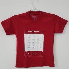 Camiseta Infantil - Box - Vermelha