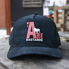 Boné Preto Estonado - We Are Bastards