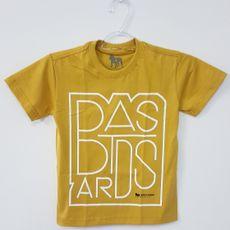 Camiseta Infantil - Bastards - Mostarda