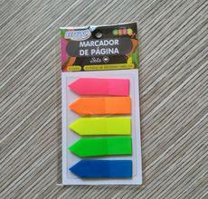 Marcador de páginas adesivo