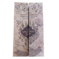 Mapa Do Maroto - Marauder's Maps Potter Harry