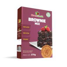Mistura para Brownie Sem Glúten, Vegano, Sem Ovos, Sem Lactose, Sem Leite - Grani Amici 370g