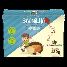 Minibolo de Baunilha Sem Glúten, Sem Lactose, Sem Leite - Grani Amici 3 un. 120g