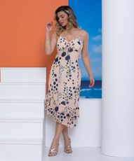 Vestido Hilda - Marinho