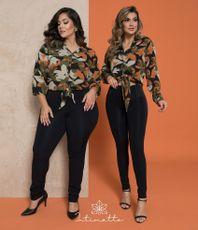 Camisa Camila- Preto