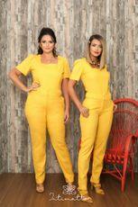 Calça Elise- Amarelo
