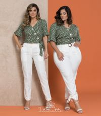 Cropped Eurides- Verde