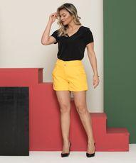 Short Felicia- Amarelo