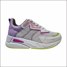 Tênis Via Marte Branco/Light Pink/Siciliano/Violeta - 211300701