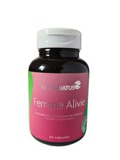 Femme Alivie diminui os sintomas da TPM, ansiedade, cólicas (60 cápsulas)
