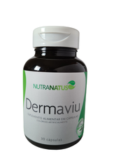 DERMAVIU Antioxidante melhora a pele, cabelo e unha. (30 cápsulas)