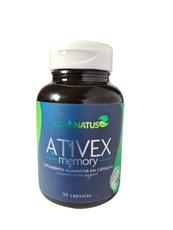 Ativex - Fortalece a memória e melhora o raciocínio  Frasco com 30 cápsulas.