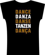 Camiseta . Dance