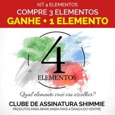 Caixa 4 elementos . Kit compre 3 elementos ganhe + 1