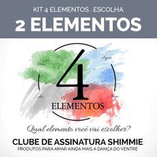 Caixa 4 elementos . Kit com 2 elementos