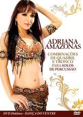 Adriana Amazonas . Combinações de Quadril e Tronco para solos de Pecussão